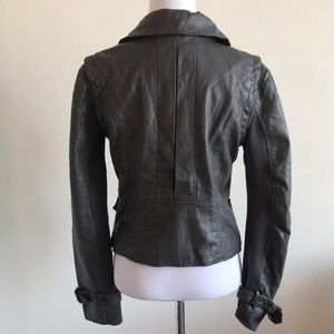 Kenneth Cole Reaction Jackets & Coats - Grey Kenneth Cole  Motorcycle jacket Size XS